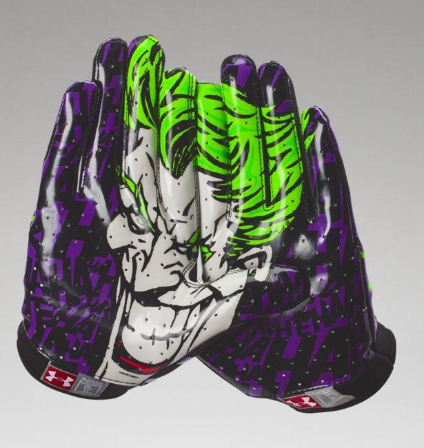 d7548f90a Men s Under Armour® Alter Ego Joker F4 Football Gloves