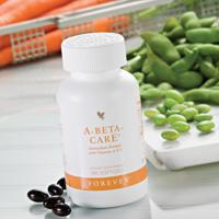 A-Beta-CarE (artnr 54)  levert het lichaam vitaminen A en E en selenium: een krachtig antioxidant mineraal. Vitamine E draagt bij aan de bescherming van lichaamscellen tegen oxidatieve effecten (antioxidanten) en vitamine A aan het behoud van normale huid en gezichtsvermogen. Vitamine A en selenium dragen bij aan het normaal functioneren van het immuunsysteem.
