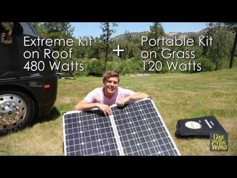 600 Watts Of Affordable Rv Solar Power Awesome Solar