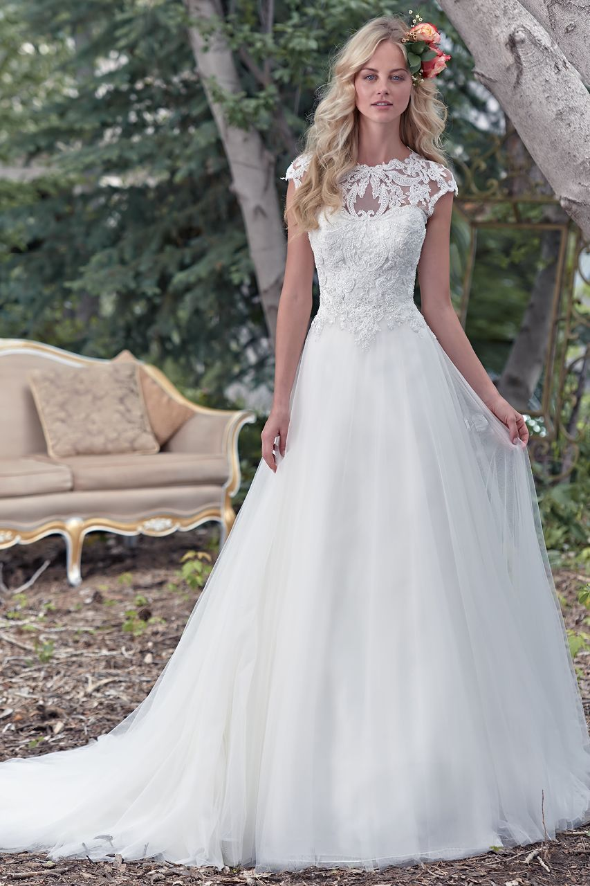 Wedding gown by maggie sottero maggie sottero bridal pinterest