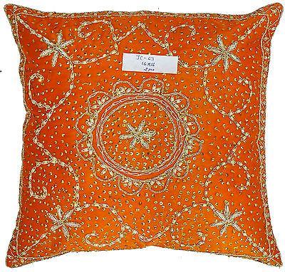 Indian-Vintage-Cushion-Cover-Zardozi-Work-Embroidery-Handmade-Pillow-Case