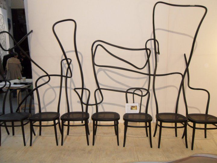 Crazy chairs!