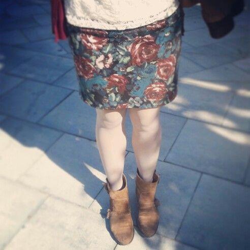 Con falda de Sietedelonce