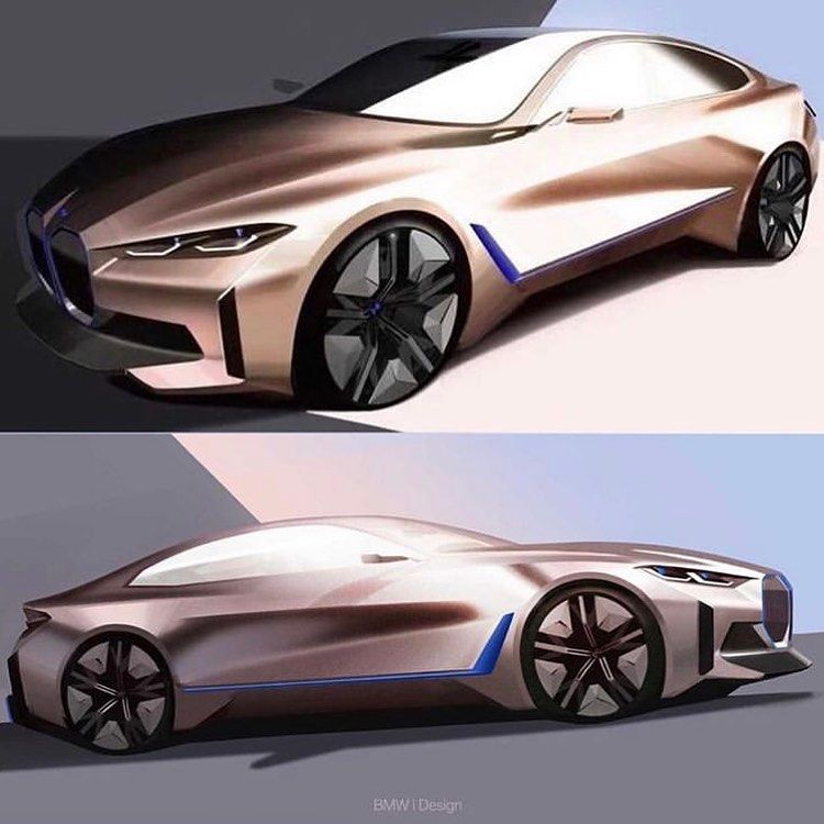Car Design Cafe On Instagram 2020 Bmw I4 Concept Official Sketches Cardesigncafe Cardesignworld Cardesigndaily Bmwi4 Bmwi In 2020 Car Design Bmw Design Car
