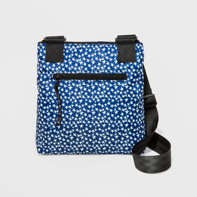 7efeee0bb3 Women s Nylon Stars Crossbody Bag - Borsani Deep Blue