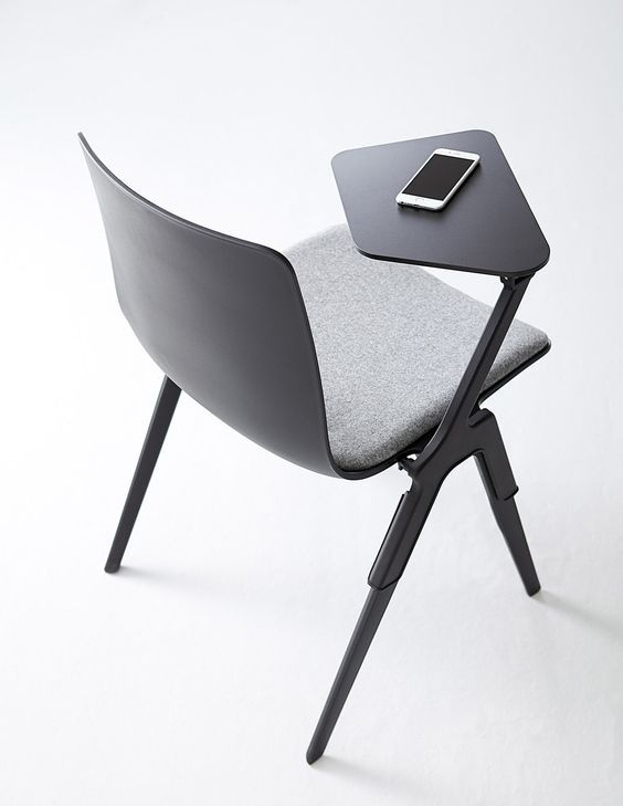 A-Chair with removable tablet #stackable #chair ...