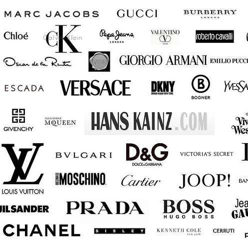 List Of Fashion Companies Clothing Brand Logos High Fashion Branding Clothing Logo