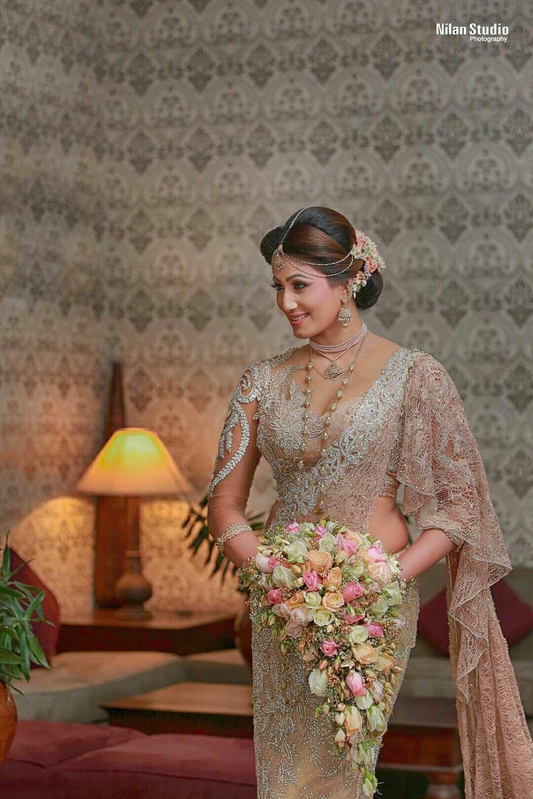 Sri Lankan Bride   NILAN\'s Beautiful Girls - 28   Pinterest