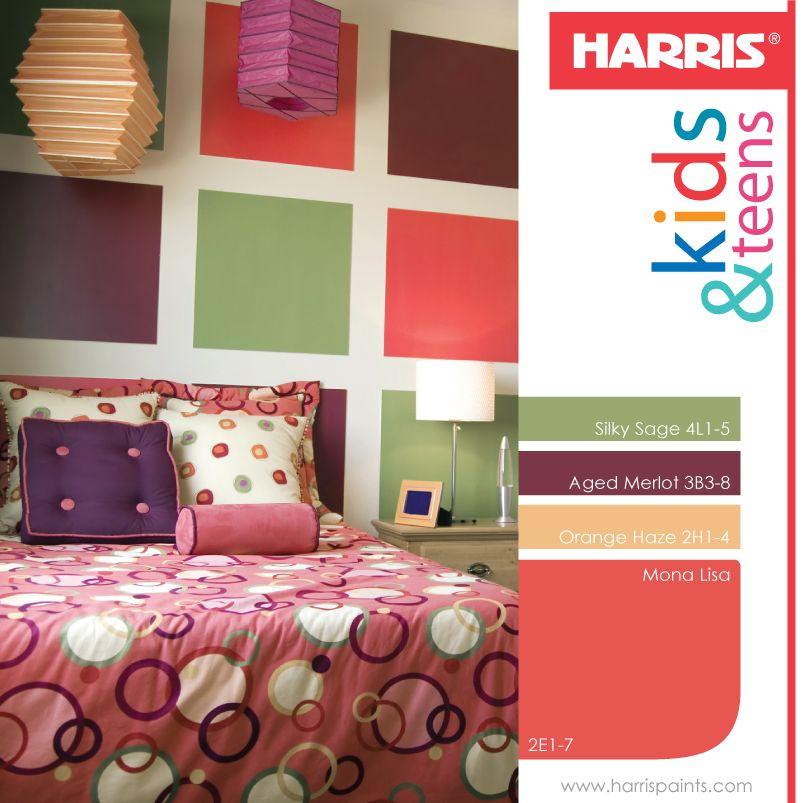 H zlo t pintar las paredes con motivos geom tricos es - Colores suaves para pintar paredes ...