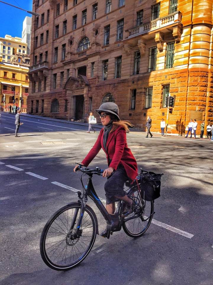 Put off by the ugly bicycle helmet? Consider Cover which has been designed for the Nutcase Street helmet. Designed and made in Sydney, Australia. The Sabrina is currently accepting pre-orders and will be available soon!