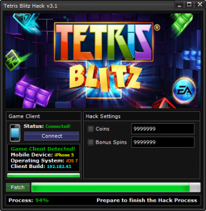 Tetris Blitz Hack & Cheats Unlimited Coins | Mod Hacks