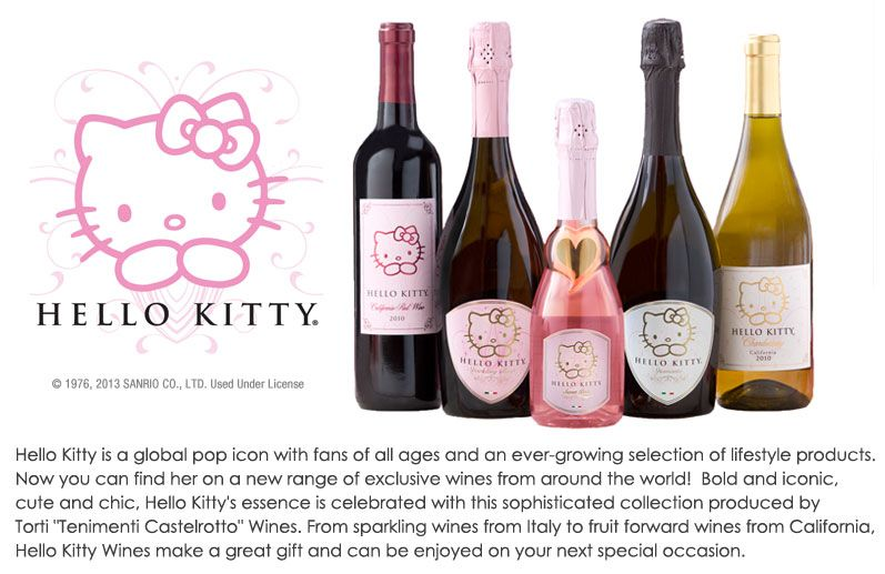#kitty #drink #drinks #champagne #beverage #beverages #hellokitty #sanrio #hello kitty
