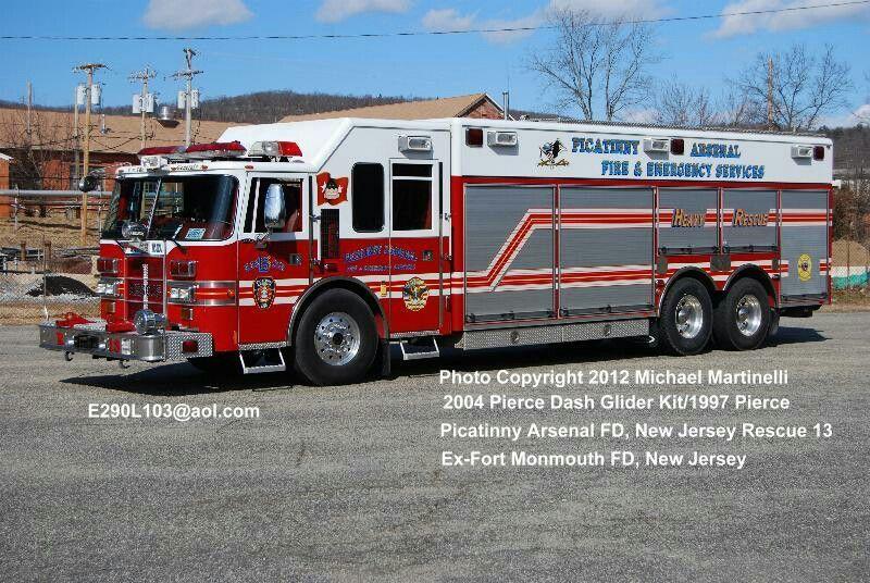 Picatinny Arsenal Hazmat 23 | FIRE TRUCKS | Fire apparatus