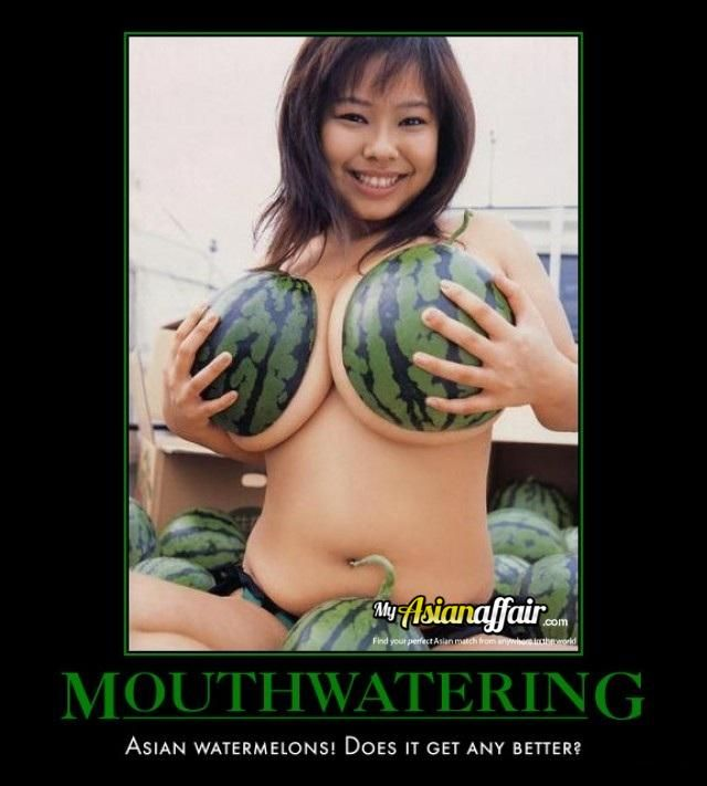 Watermellon tits #10