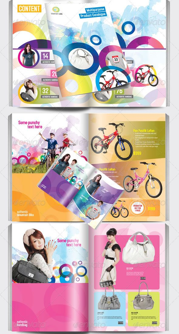 Multipurpose Product Catalogue Indesign Template | Brochure Design ...