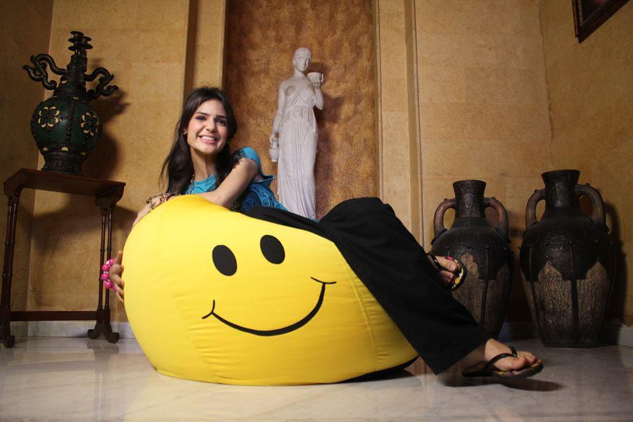 Smiley Bean Bag Chair