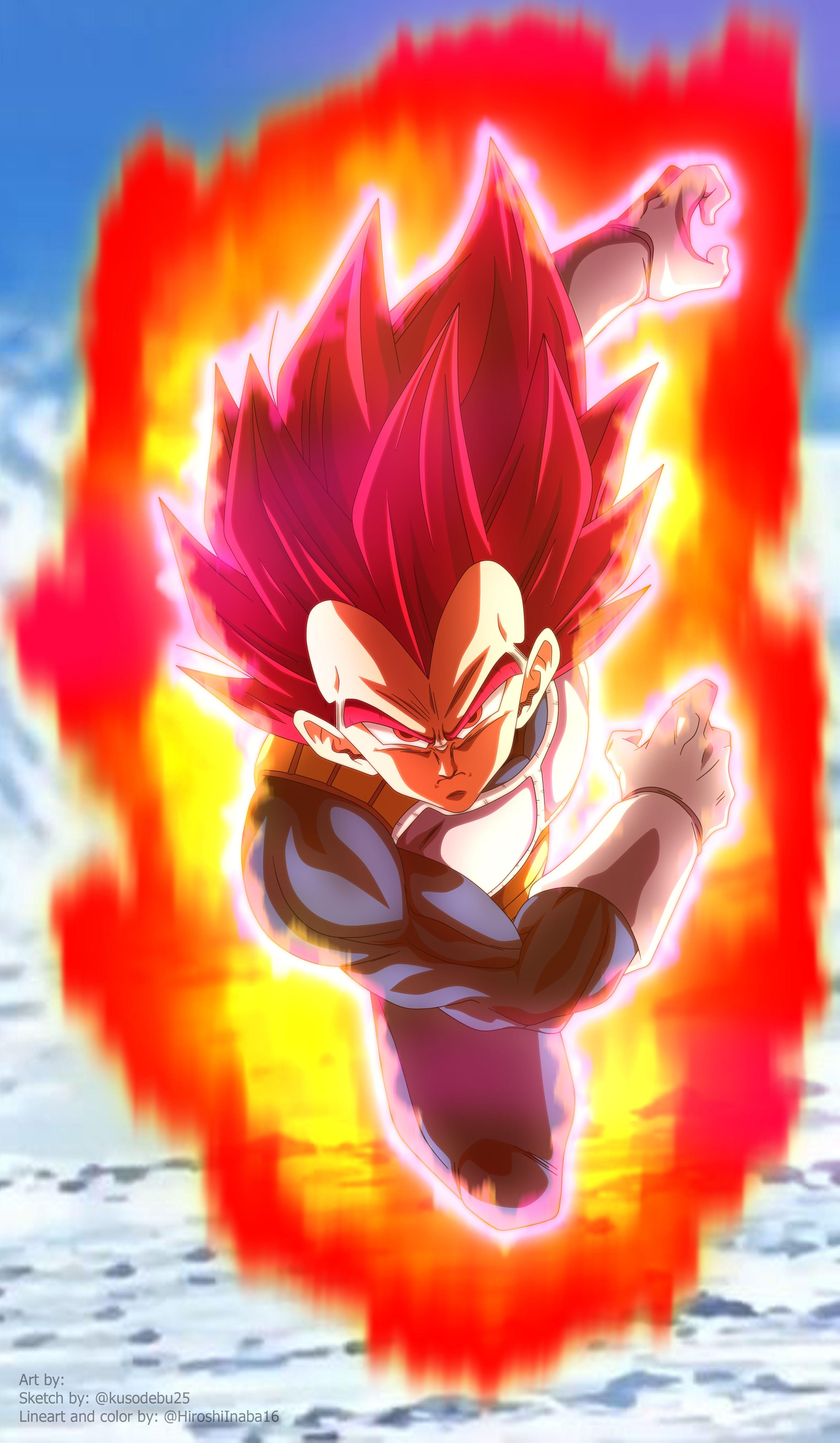 Vegeta Super Saiyan God Anime Dragon Ball Super Dragon Ball Super Manga Dragon Ball Goku