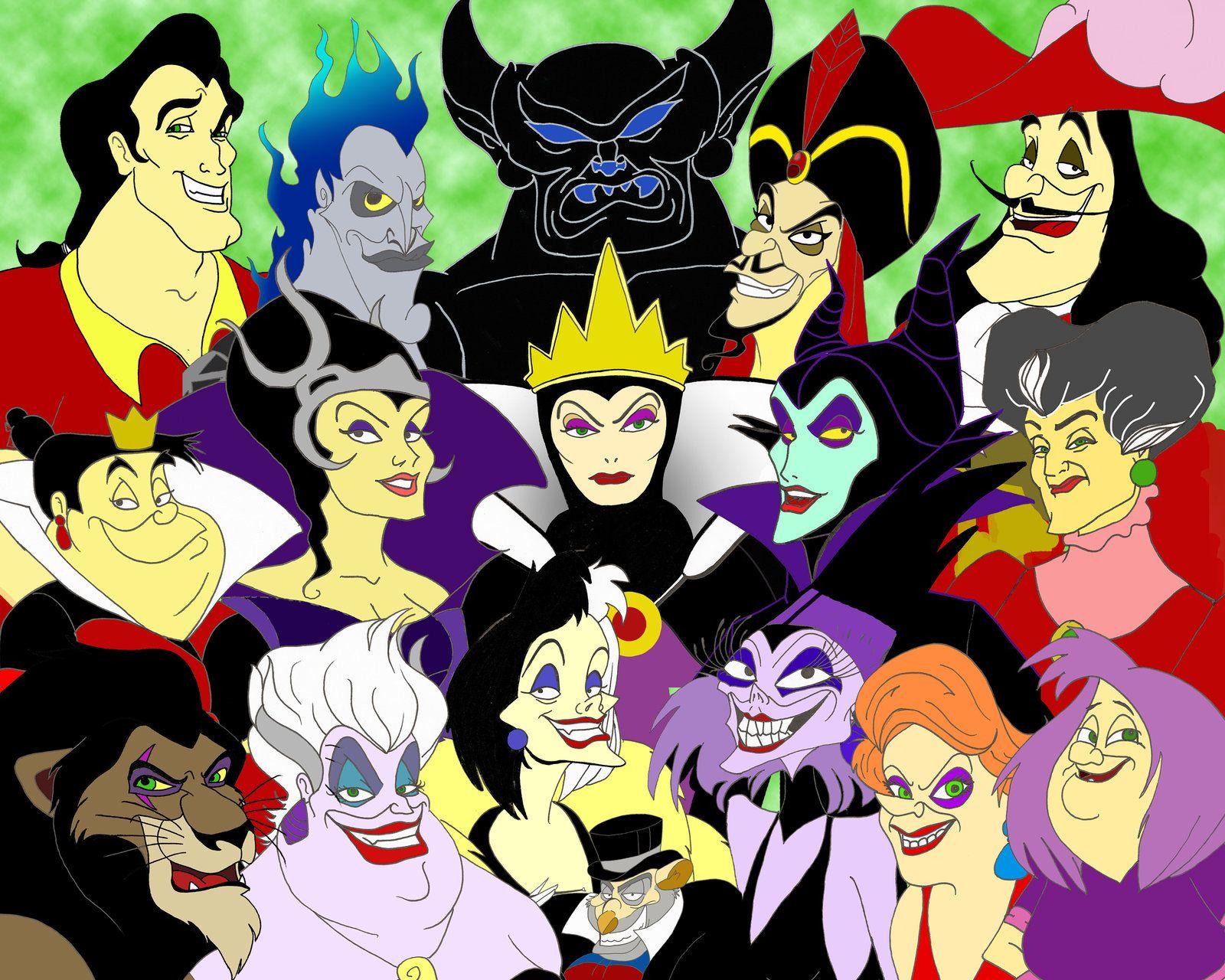 All Disney Villains