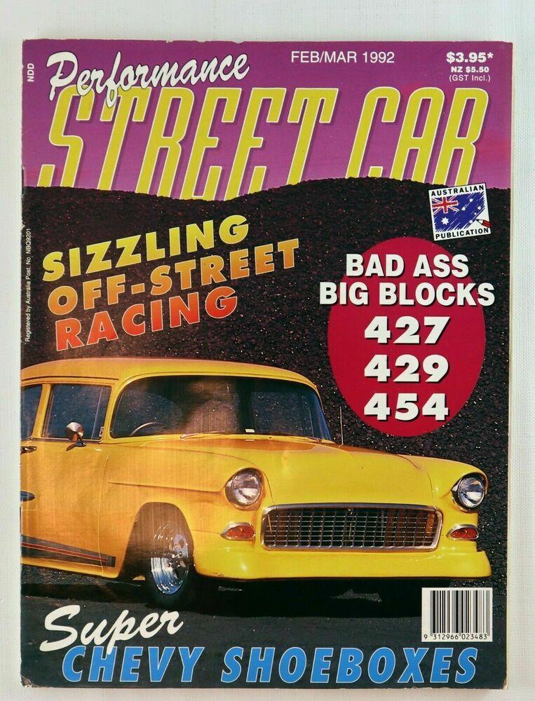 Performance Street Car 1992 Off Street Racing Sema 1991 Show