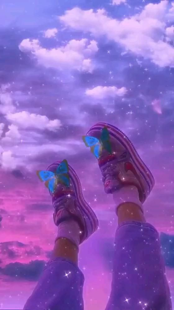 astetich shoes💙💜