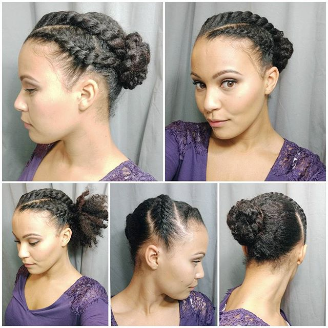 Happy Friday I Did This Style A Couple Of Weeks Back But Only Twist PonytailFlat