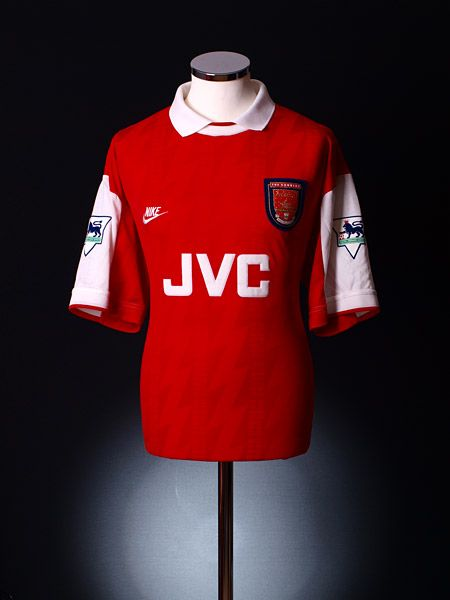 79d137cff 1994-95 Arsenal Match Worn Home Shirt