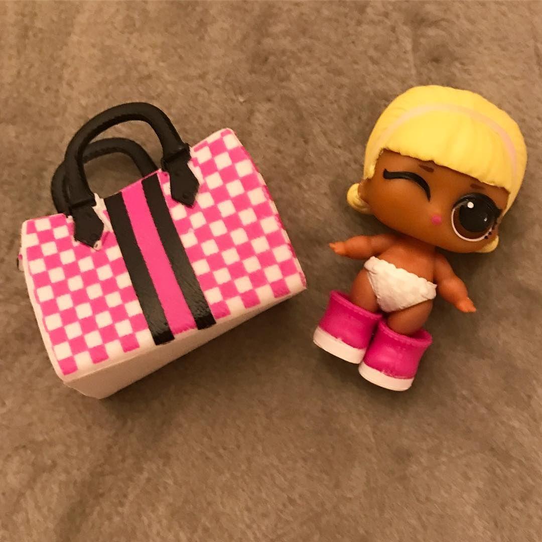 LOL Surprise Lil Sisters Doll Lil Drag Racer
