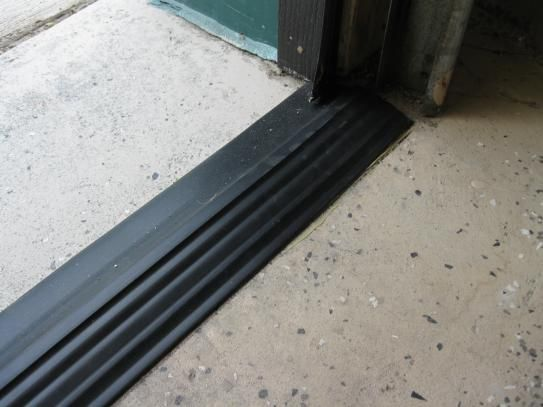 Tsunami Seal 16 Ft Black Garage Door Threshold Kit In 2018