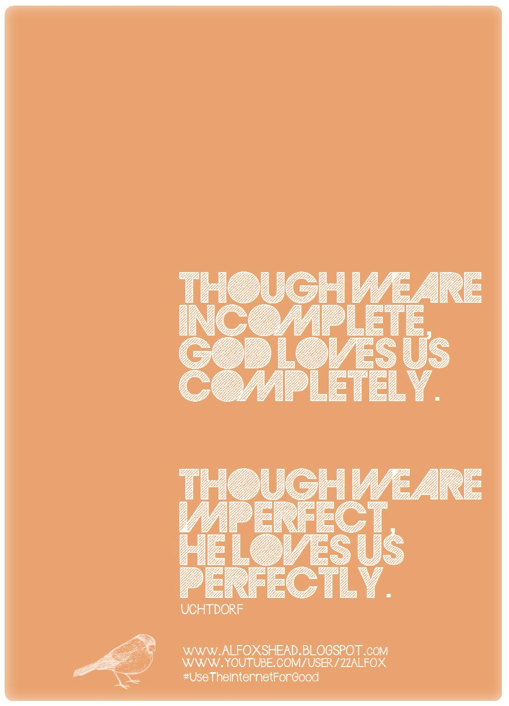 Somethign I Made. Love This Quote 'Though We Are
