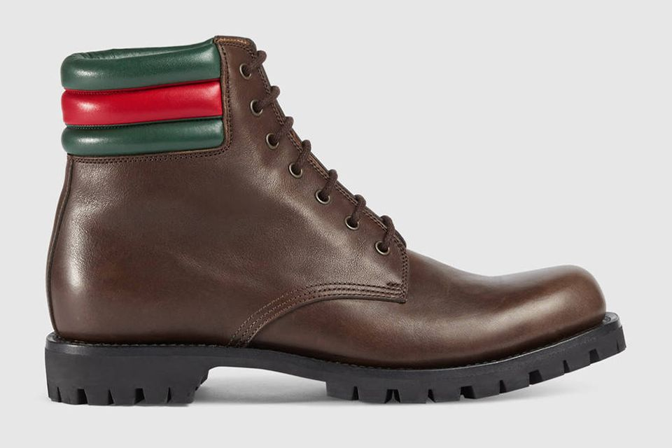 Gucci Leather Boots as the Timberland alternative