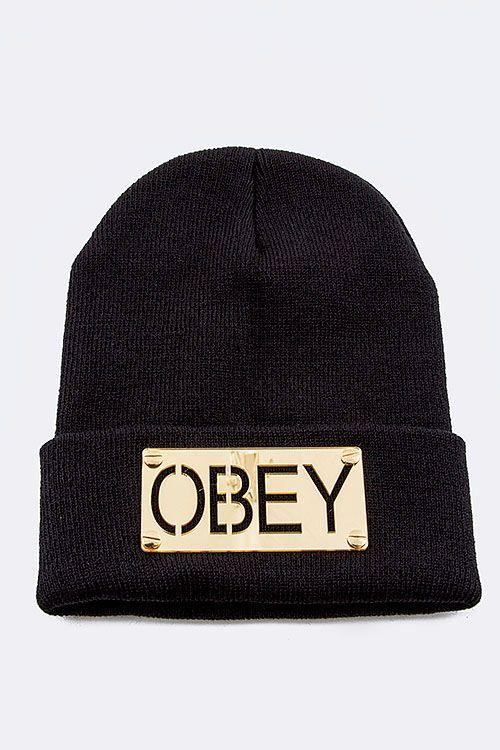 ed7dccdfebfa0 OBEY Beanie www.gatzino.com Gorras Obey