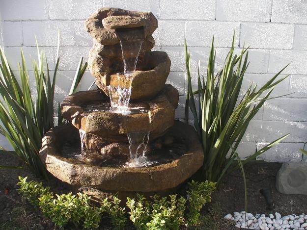 Fuentes de agua en feng shui fuentes de agua exteriores e - Como hacer una fuente para jardin ...