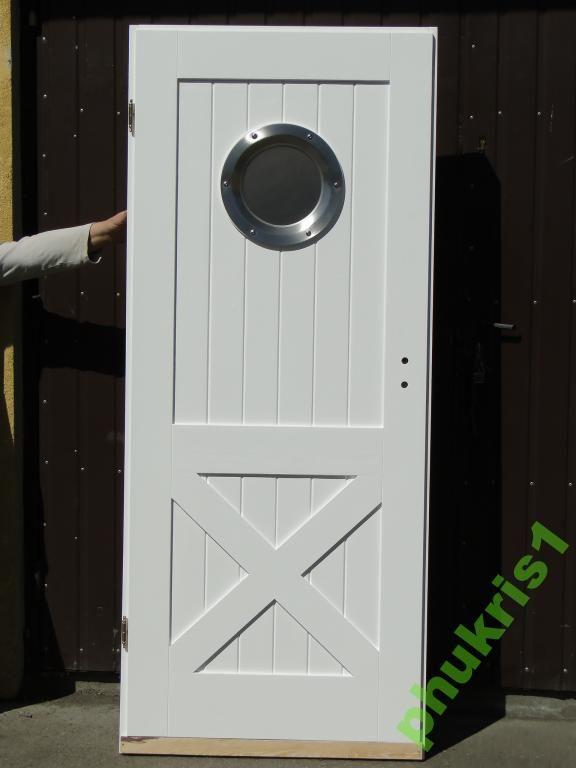 Drzwi Wewnetrzne Drewniane Biale Z Bulajem Bulaj 5371632753 Oficjalne Archiwum Allegro Tall Cabinet Storage Items Home Decor
