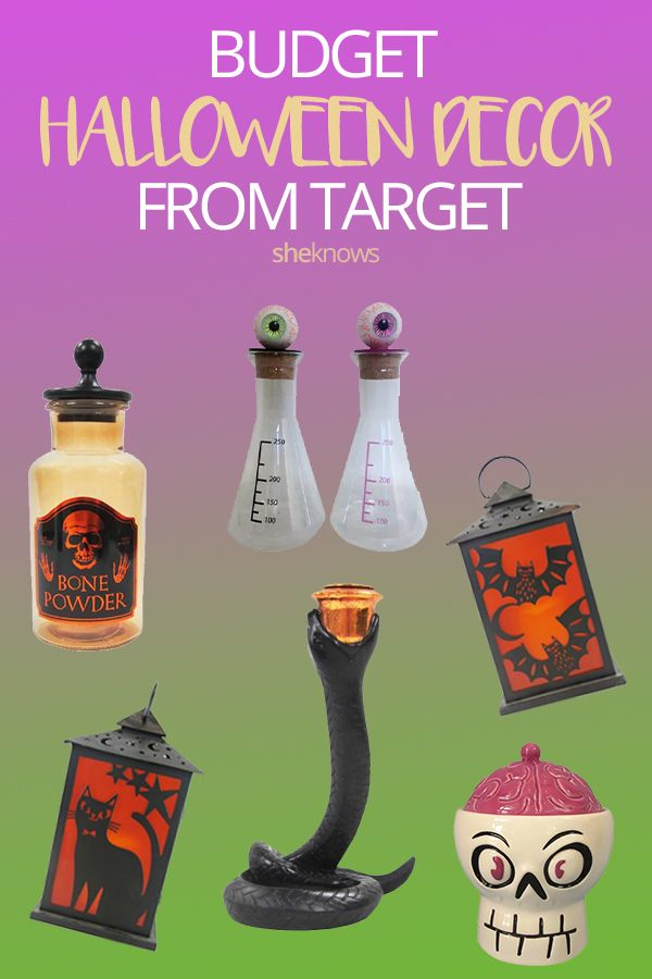 The 18 Best Target Halloween Decor Items for $20 or Less Target