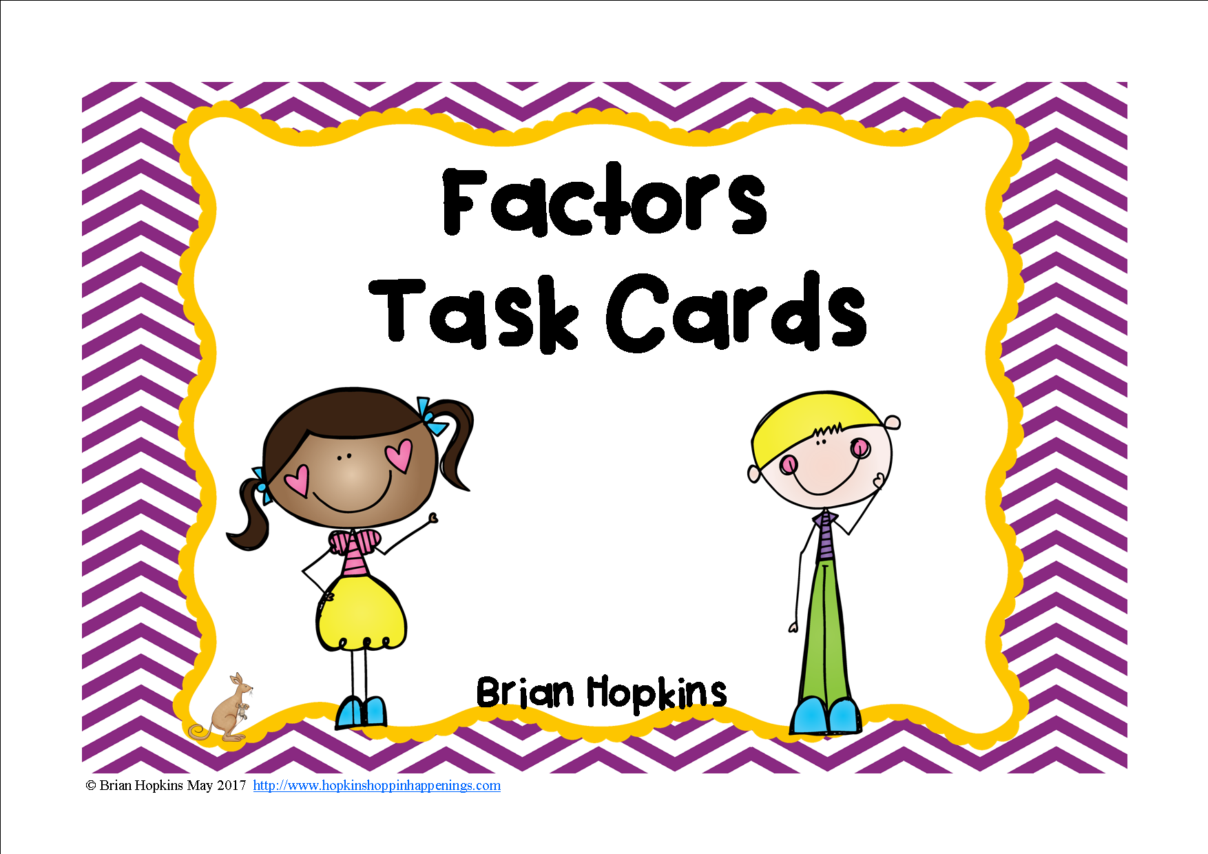 Factors Task Cards With Images