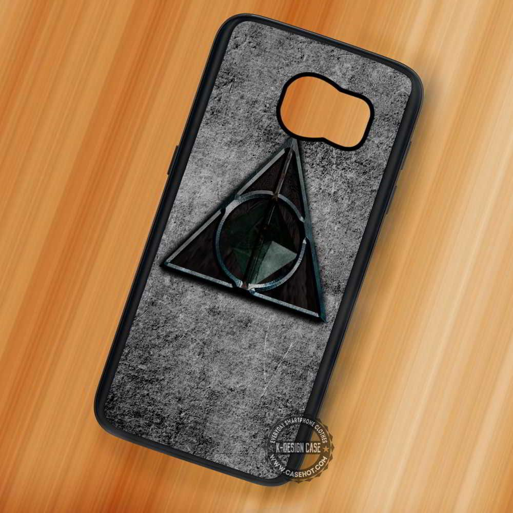 Deathly Hallows Harry Potter Symbol - Samsung Galaxy S7 S6 S5 Note 7 Cases & Covers
