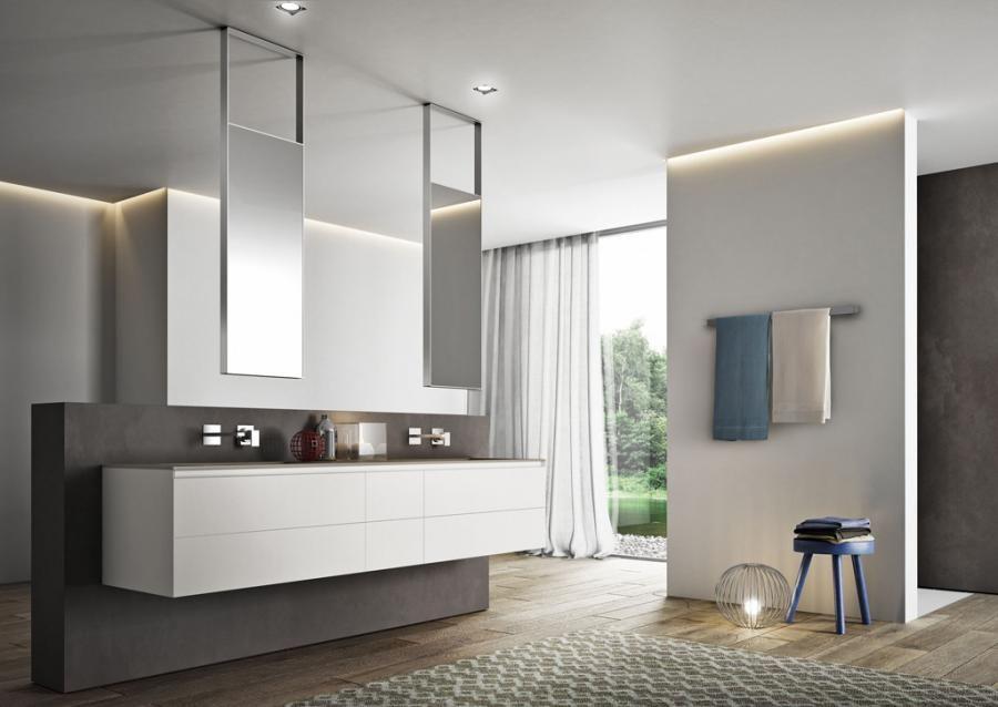 Set Da Bagno Moderno : Cubik mobili da bagno moderni per arredo bagno di design arredo
