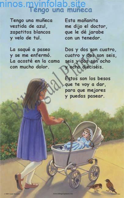 Nursery Rhymes In Spanish Bilingual Planet Rimas Infantiles Poemas Infantiles Letras De Canciones Infantiles