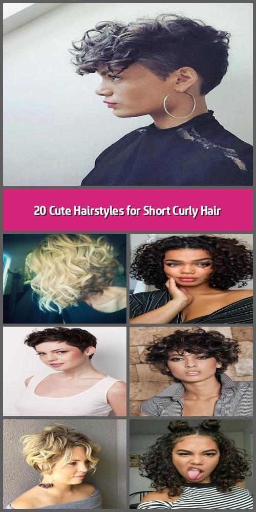 Photo of 20 süße Frisuren für kurzes lockiges Haar – alle Menschen suchen nach süßen …