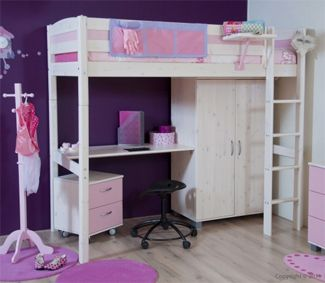 Tips voor kleine kinderkamer kinderkamer pinterest bunk bed and kids rooms - Ideeen deco tienerkamer ...