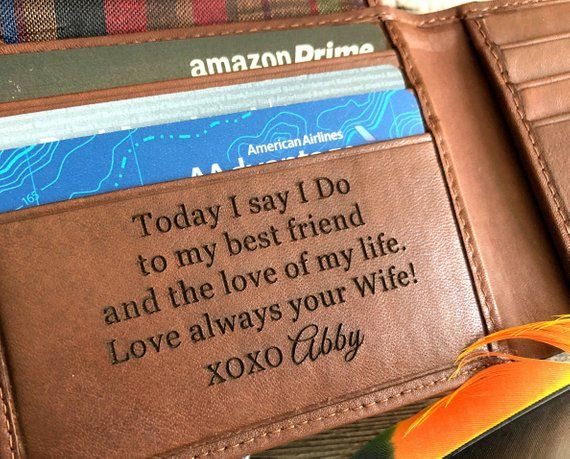 Gift To Husband On Wedding Day: Gift For Groom From Bride On Wedding Day • Personalized