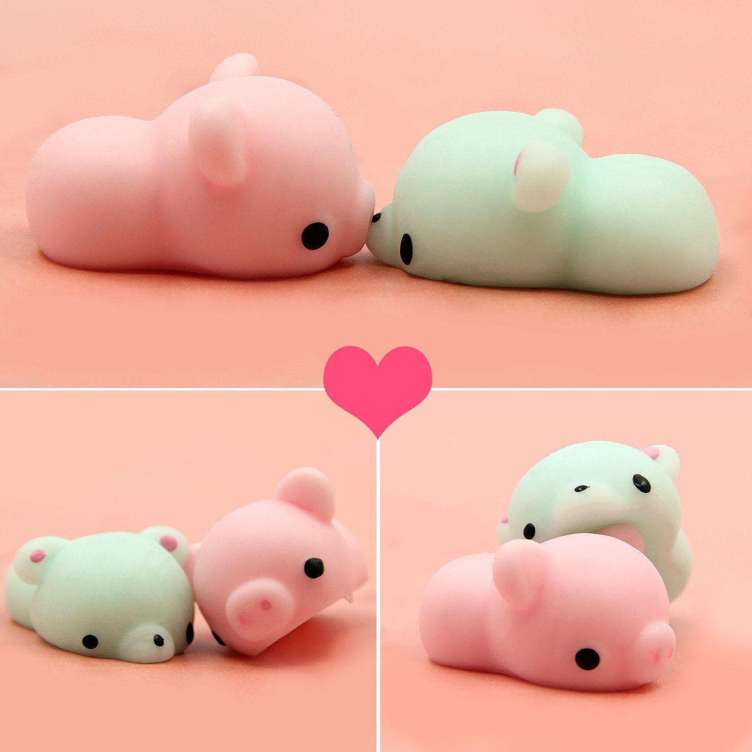 Beautiful 3pcs Kid Toy Hobbie Gift Soft Ushihito Kawaii Cute Squishy Press Slow Rising Mini Small Cloud Squeeze Phone Straps Bread Cake Mobile Phone Accessories