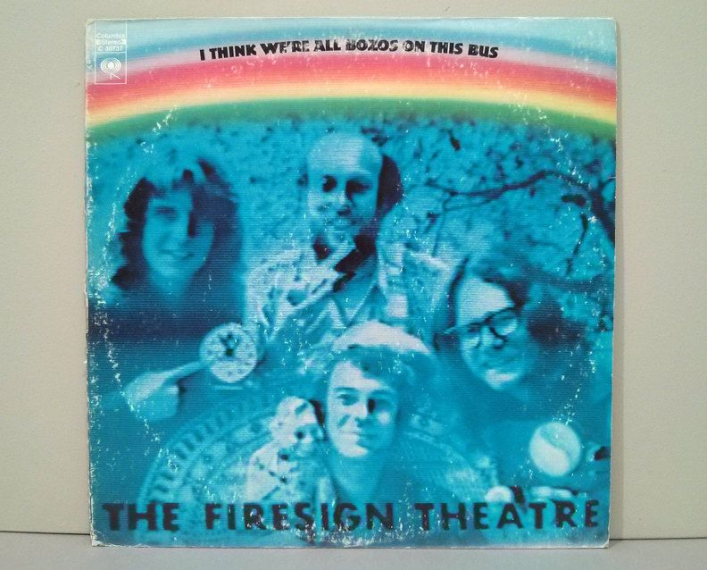 The Fireside Theater We 39 Re All Bozos On This Bus Vinyl Record Lp Album With Images Lp Albums Vinyl Records Classic Album Covers
