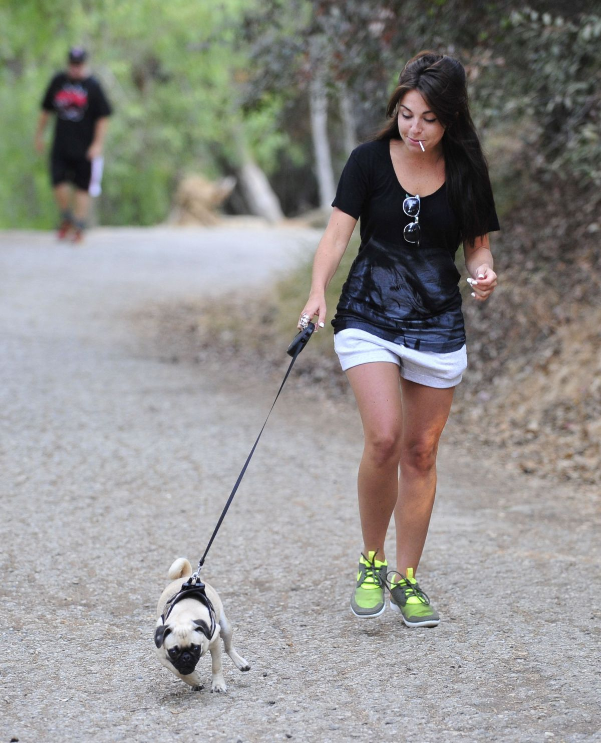 out walking a dog - Google Search