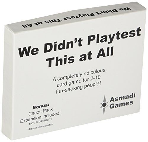 We Didn\u0027t Playtest This at All - With Chaos Pack Asmadi Games