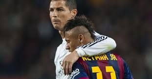 Resultado De Imagen Para Messi Y Cr7 Jovenes Neymar Cristiano