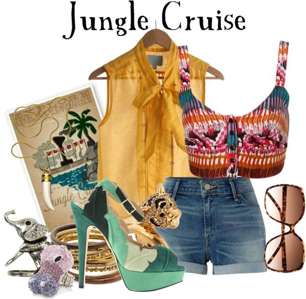 """""""Jungle Cruise"""" by agust20 ❤ liked on Polyvore"""