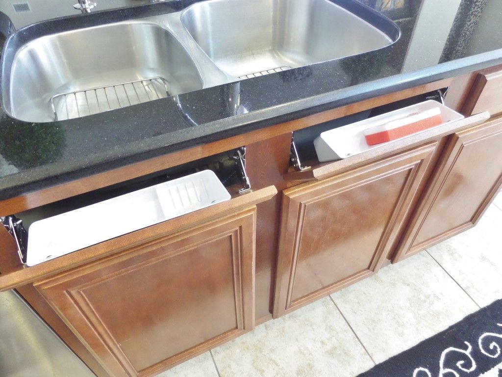 How To Install A Sink Front Tip Out Tray Under Kitchen Sink Storage