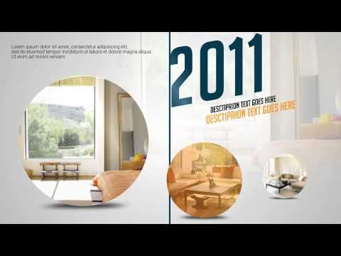 Corporate Timeline V 2 After Effects Template Video Templates