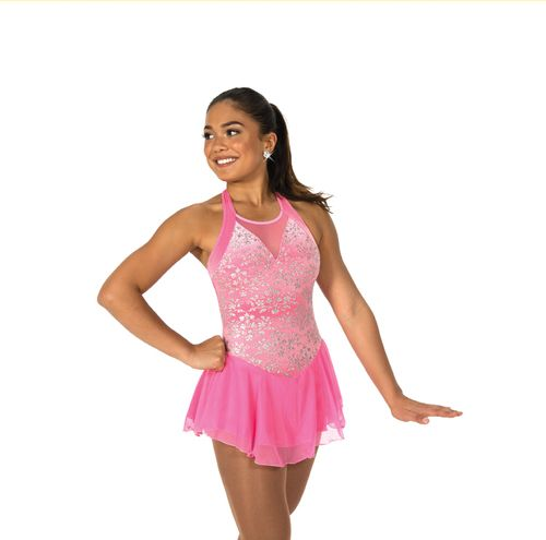 Jerry's Figure Skating Dress 94 - Coventry (Clear Pink)
